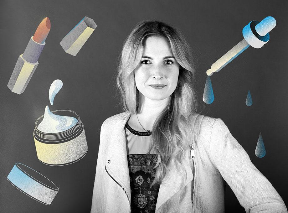 Andrea Olofsson, e-handelschef och affärsutvecklare Hudoteket