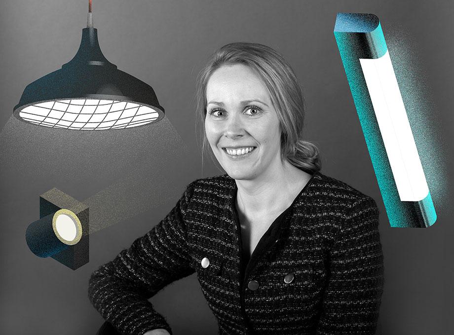 Elin Stjernholm, teamchef produktutveckling Fagerhults