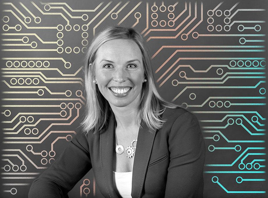 Ida Bergs, konsultenhetschef Combitech