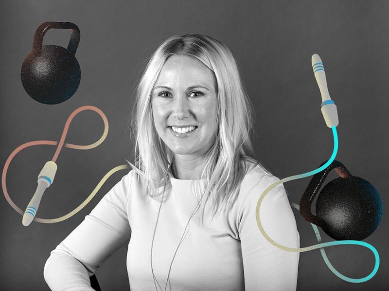 Jennie Wall, regionchef Nordic Wellness