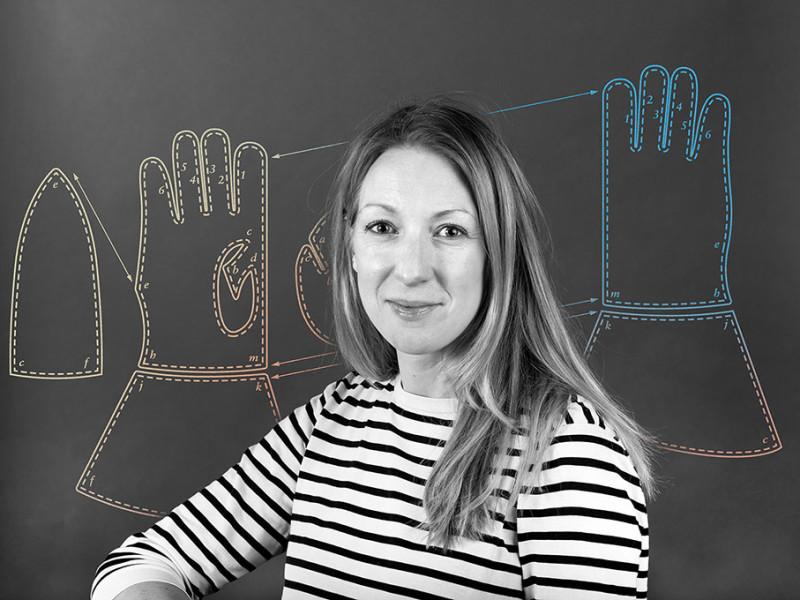 Jenny Kvarnlöf, marknadsansvarig Hestra-Handsken