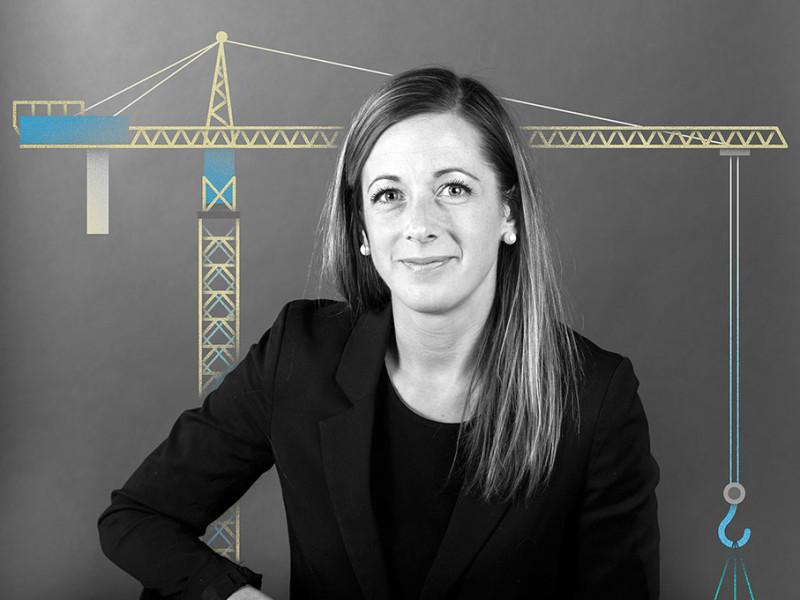 Johanna Severed, verksamhetschef Riksbyggen