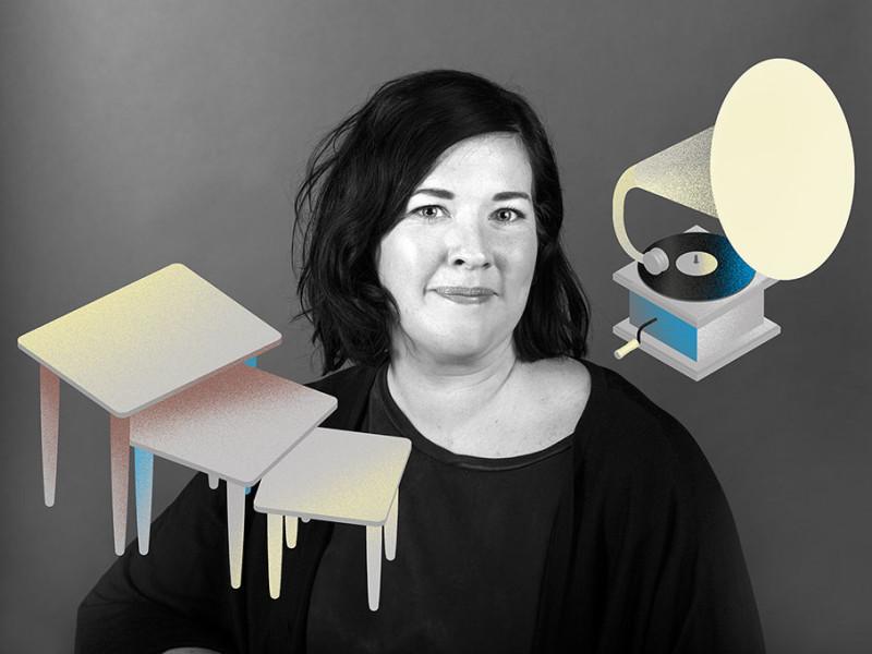 Karin Staberg, butikskommunikationschef Erikshjälpen Secondhandbutiker
