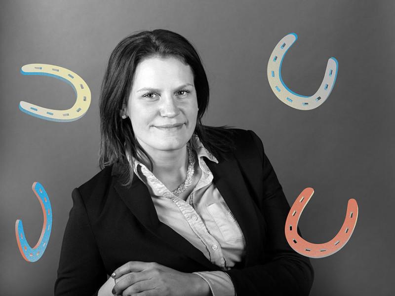 Maria Stigsson, ridskolechef Vissmålen 4H