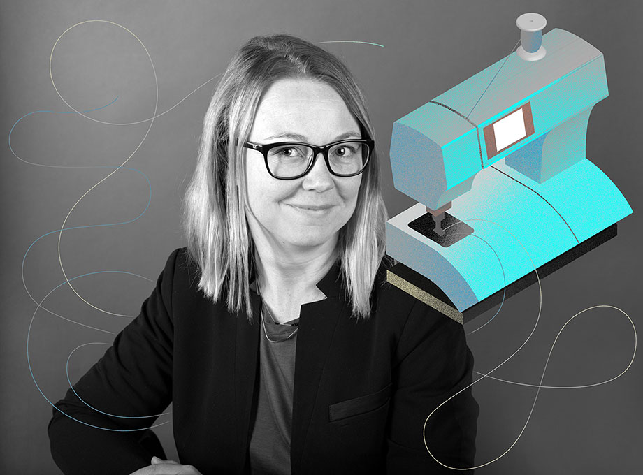 Sara Gard, projektledare Husqvarna