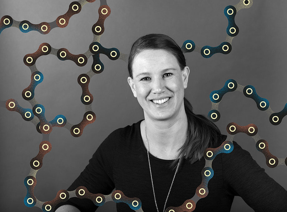 Therese Silvander, projektledare och volleybolldirektör