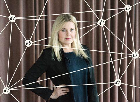 Annie Grönblad, försäljnings- och marknadsansvarig Trustcruit