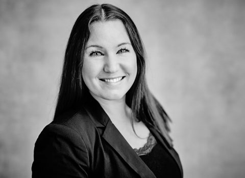 Hanna Magnusson, projektledare EVRY