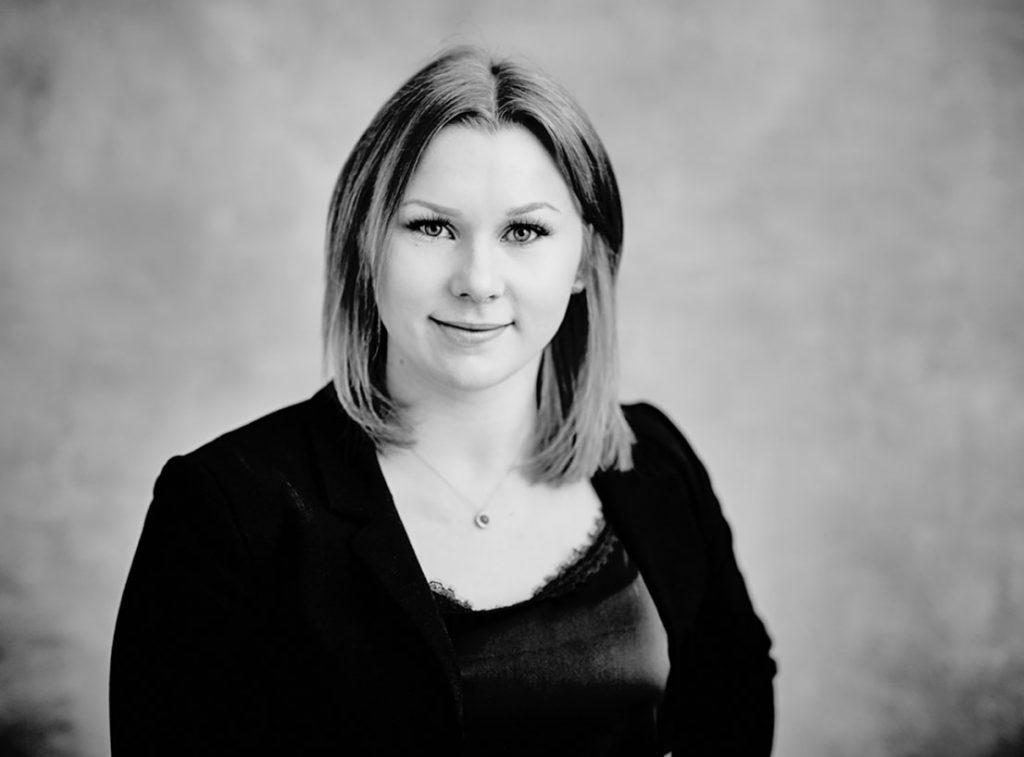 Årets unga ledande kvinna Linnea Wibeg