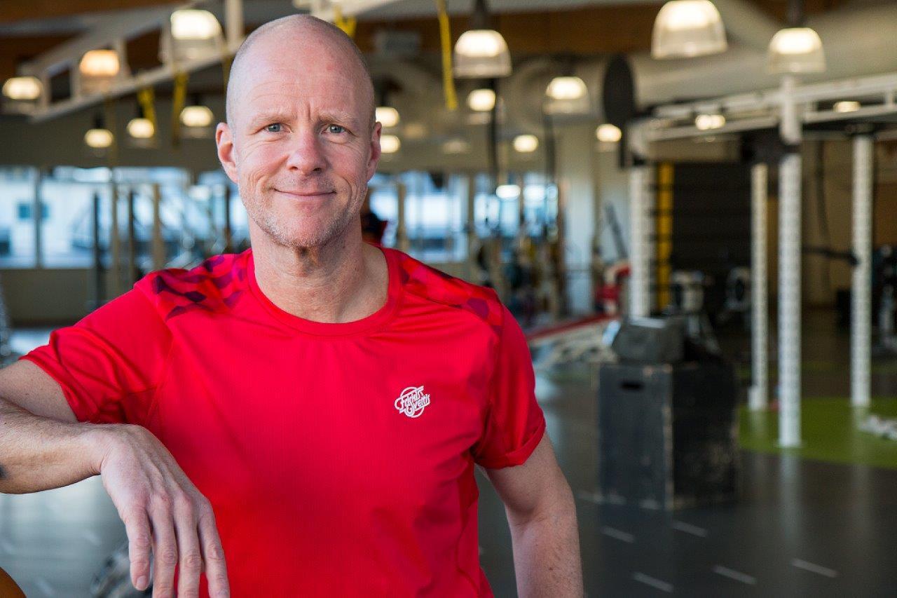 Johan Thor, verksamhetschef för Friskis&Svettis som är Jönköpings läns största idrottsförening